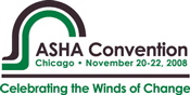 ASHA Convention Logo